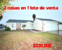 2 homes on 1 lot for sale