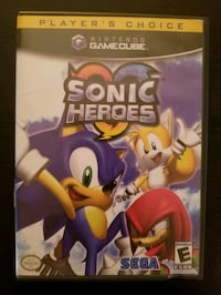 Sonic Heroes for Gamecube