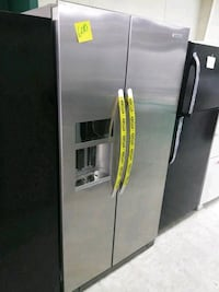 Stainless steel side by side refrigerator excellen Laurel, 20707