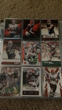 Browns cards Troutman, 28166