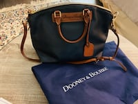 Doony & Bourke leather purse Navy, Almost new. Retailing at &195.  Washington, 20008