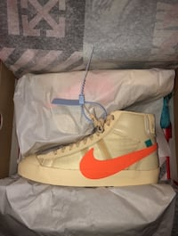 Nike Air x Offwhite Hallows Eve Size 13 Toronto, M2L 2J2