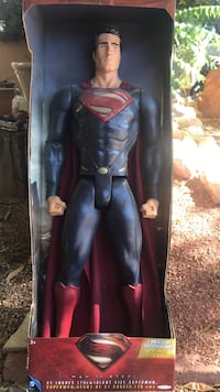 Superman action figure in window box package Albuquerque, 87109