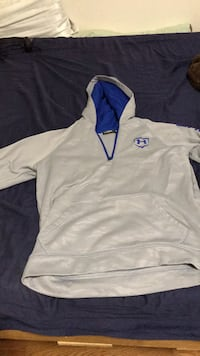 white and blue Nike pullover hoodie Farragut, 37934