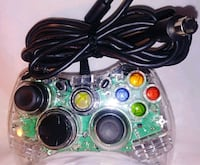 green and black Xbox 360 controller Harvey, 70058