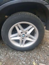 BMW Rims + Continental Tires (50%Tred) 5 Lug