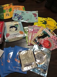 Korean and Japanese Face pack etc...