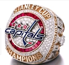2018 Washington Capitals Stanley Cup Ring