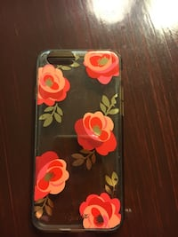 black and red floral iPhone case San Antonio, 78023