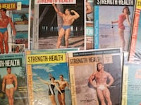 Back Issues of Strength & Health Las Vegas