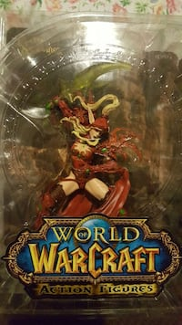 Unopened new World of warcraft action figure