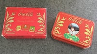 Old Fashioned Coca Cola Tin & Playing Card Set Toms River, 08753