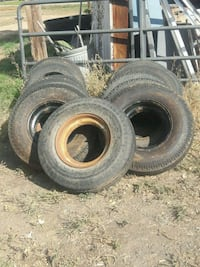 Tires 8 x 14.5 load range G Erie, 80516