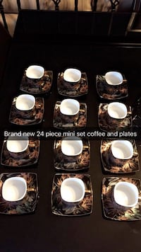 Brand new coffee set cups and plates  Calgary, T1Y 1X7
