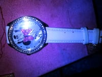 Diamond Minnie Mouse Watch