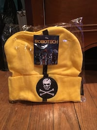 yellow and black Robotech knit cap pack Baltimore, 21222