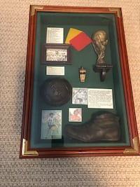 World Cup memorabilia picture frame box 556 km