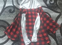 checkered  flannel hoodie jacket Edmonton, T6K