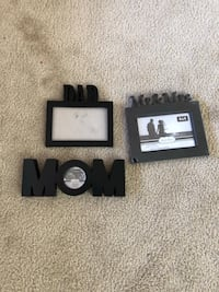 Assorted New and like new photo frames( all for $10).. Toronto, M9V