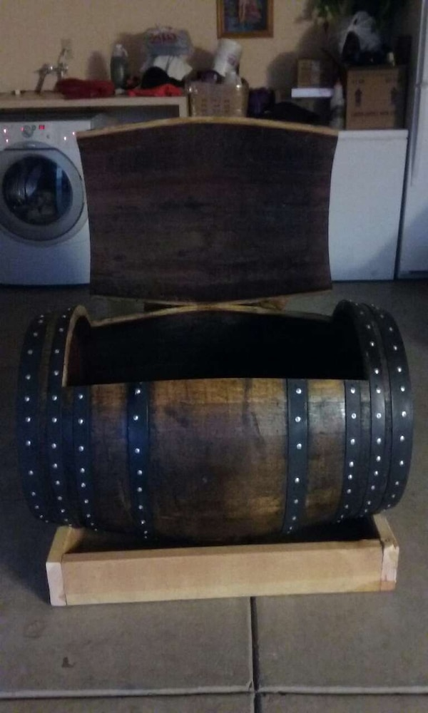 Used Brown And Black Barrel Cooler For Sale In Stockton Letgo