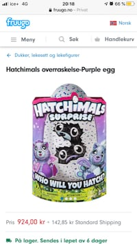 To par m interaktive hatchimals dukker Lørenskog