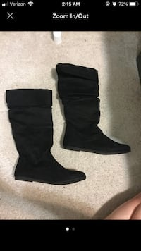 Size 8 suede boots East Lansing, 48823