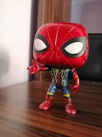 Funko pop ıron Spiderman kutusuz