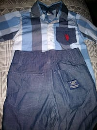 18months polo shorts outfit
