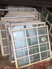 Huge Rustic Windows