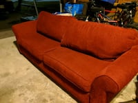 Large Sofa / Couch, Red