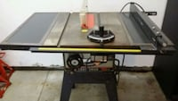 black and red table saw Brunswick, 44212