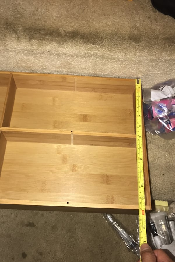Drawer organizer 1