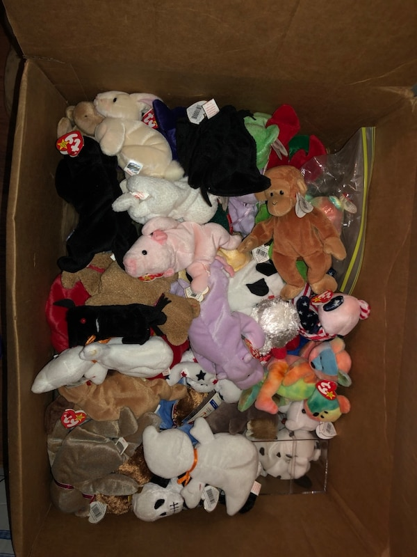 Used Rare beanie babies bundle obo for sale in Conyers - letgo bdc4c0e9c53f
