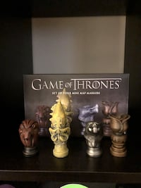 Game of thrones map markers  Montvale, 07645
