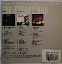 The Stranglers 3CD Original Albums Classics box set   Toronto