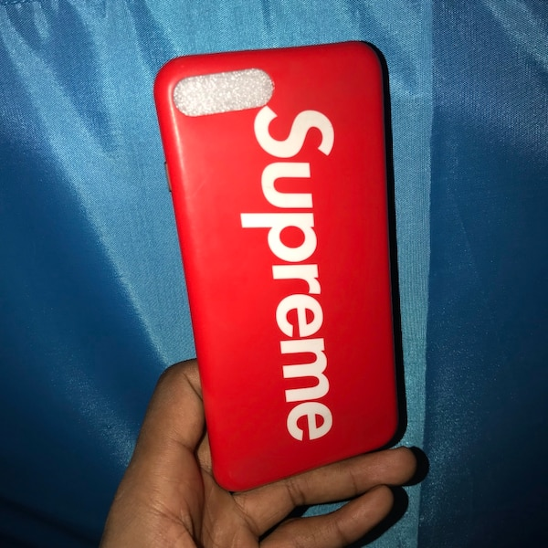 cheaper 624cc 39aa7 SUPREME IPHONE 7 PLUS/8 PLUS CASE
