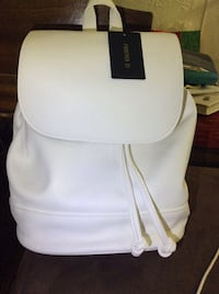 Forever 21 white leather backpack Yonkers, 10705