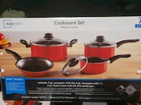 pc mainstays 7-piece non-stick cookware set  Haymarket, 20169