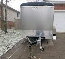5x8 Enclosed Utility Trailer