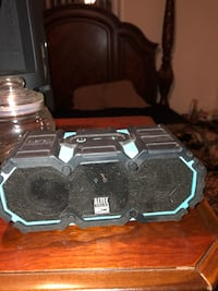 black and gray Altec Lansing portable speaker Manassas, 20110