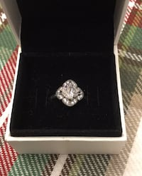 Pandora crystallized Floral Fancy Ring Size 54 (7) Brand New Vaughan, L6A 2L7