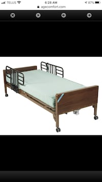 Lightly Used hospital bed for sale Mississauga, L5P