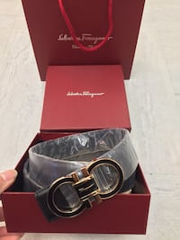 Salvador Ferragamo Black Belt  New York, 10034