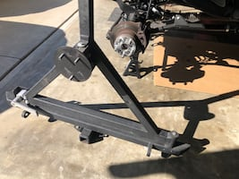 Jeep TJ rear bumper with tire carrier