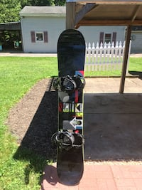162cm Salomon Sight snowboard with Ride bindings and size 12 Jackson boots Phoenixville, 19460
