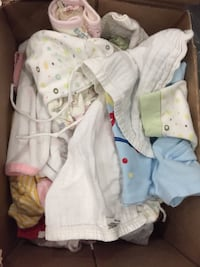 baby's assorted clothes Calgary, T2M 1C5