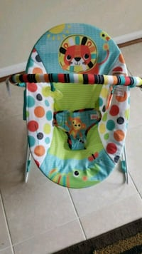 baby's multicolored bouncer Montclair, 22025