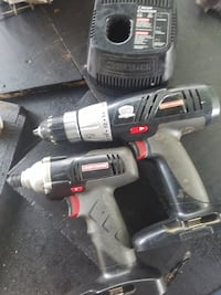 Craftsman 19.2 volt impact, drill, charger with 1 battery 43 km