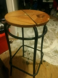 round brown wooden side table London, N6J