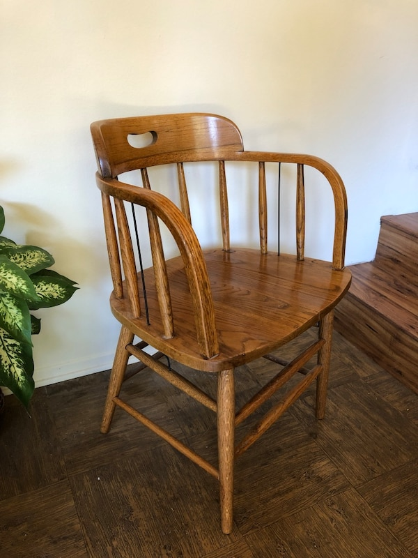 CAPTAINS CHAIRS / Pair / Solid Wood 7fdbf9e0-2c52-481f-a213-f47fd4fec076